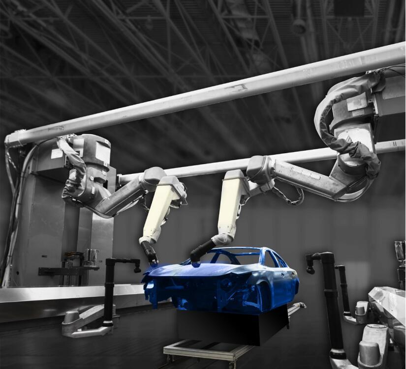 喷涂机器人对比手工喷涂的性能优势